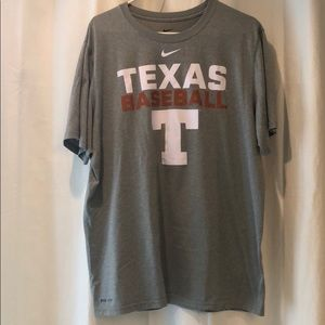 Texas Longhorns Baseball Men's Nike Dri-Fit Shirt